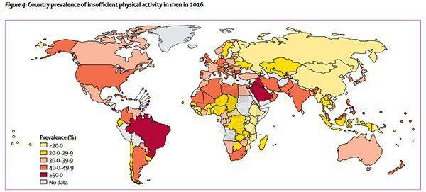 پیاوانی کوەیت و سعود لەتەمەڵ ترین پیاوانی جیهانن