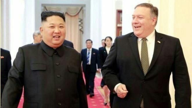 کۆریای باکور مایک پۆمپیۆ به بهربهستی دانوستانهکانی له گهڵ ئهمریکا ناو دهبات